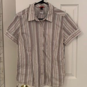 The North Face Button down too size L